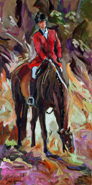 Original Equestrian Oil Paintings by Gail Guirreri-Maslyk
